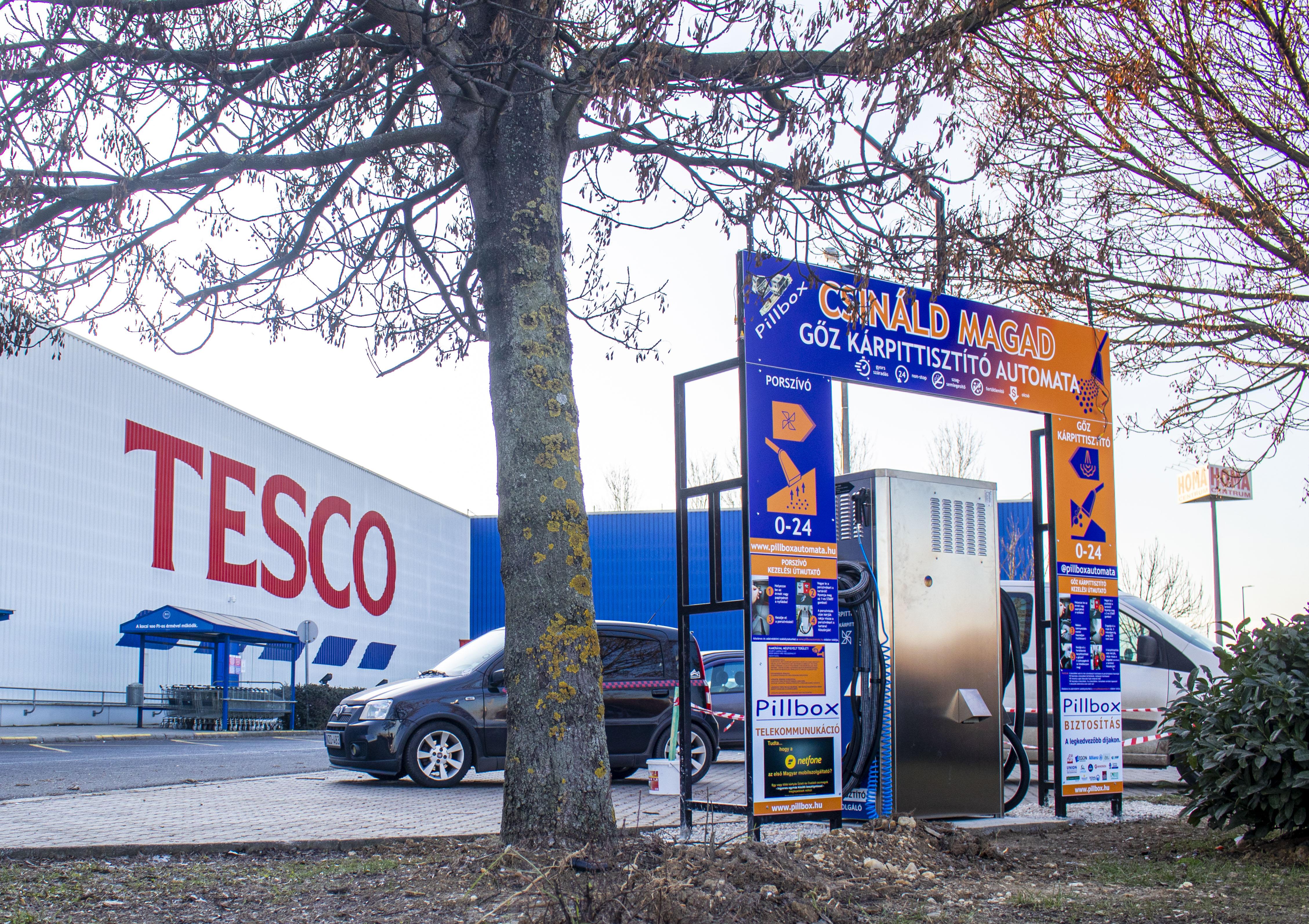 Kolejna instalacja odkurzacza parowego Self Service na Węgrzech