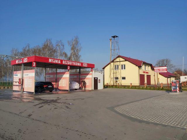 Samoobsługowe pranie parowe już na myjni w Łowinie