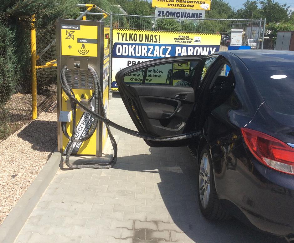 Wpływ czyszczenia samochodu na środowisko