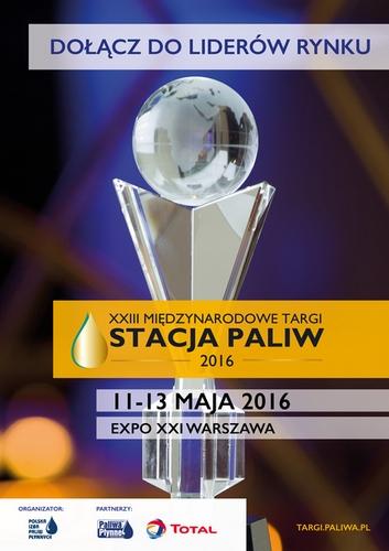 Zapraszamy na Targi Stacja Paliw 11-13.05.16