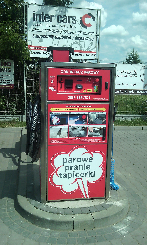 Maszyna samoobsługowa w Nowym Targu