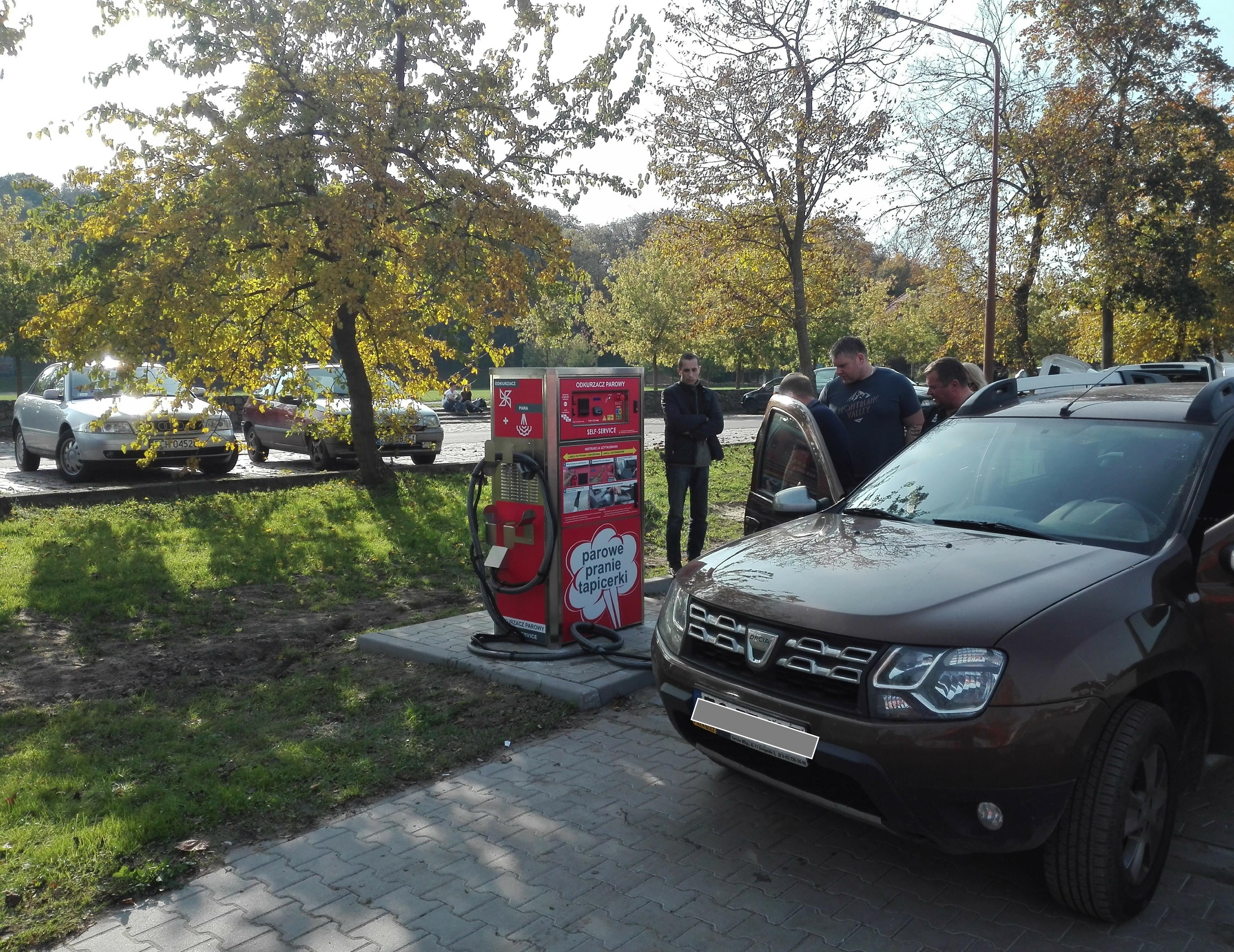 Samoobsługowa maszyna do prania tapicerki już w Choszcznie