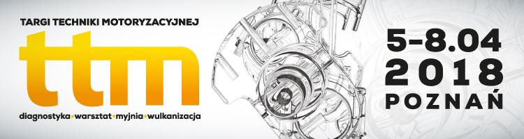 Zapraszamy na Targi Techniki Motoryzacyjnej (5-8 kwietnia) w Poznaniu
