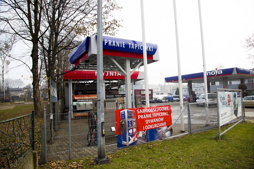 Już w Radzionkowie - myjnia samoobsługowa, stacja paliw oraz punkt do prania tapicerki