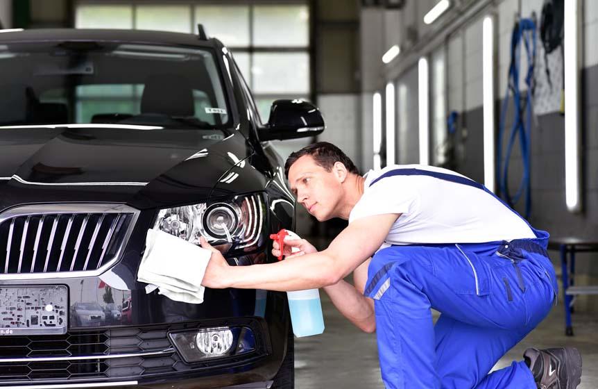 Czyste auto dzięki myjniom bezdotykowym