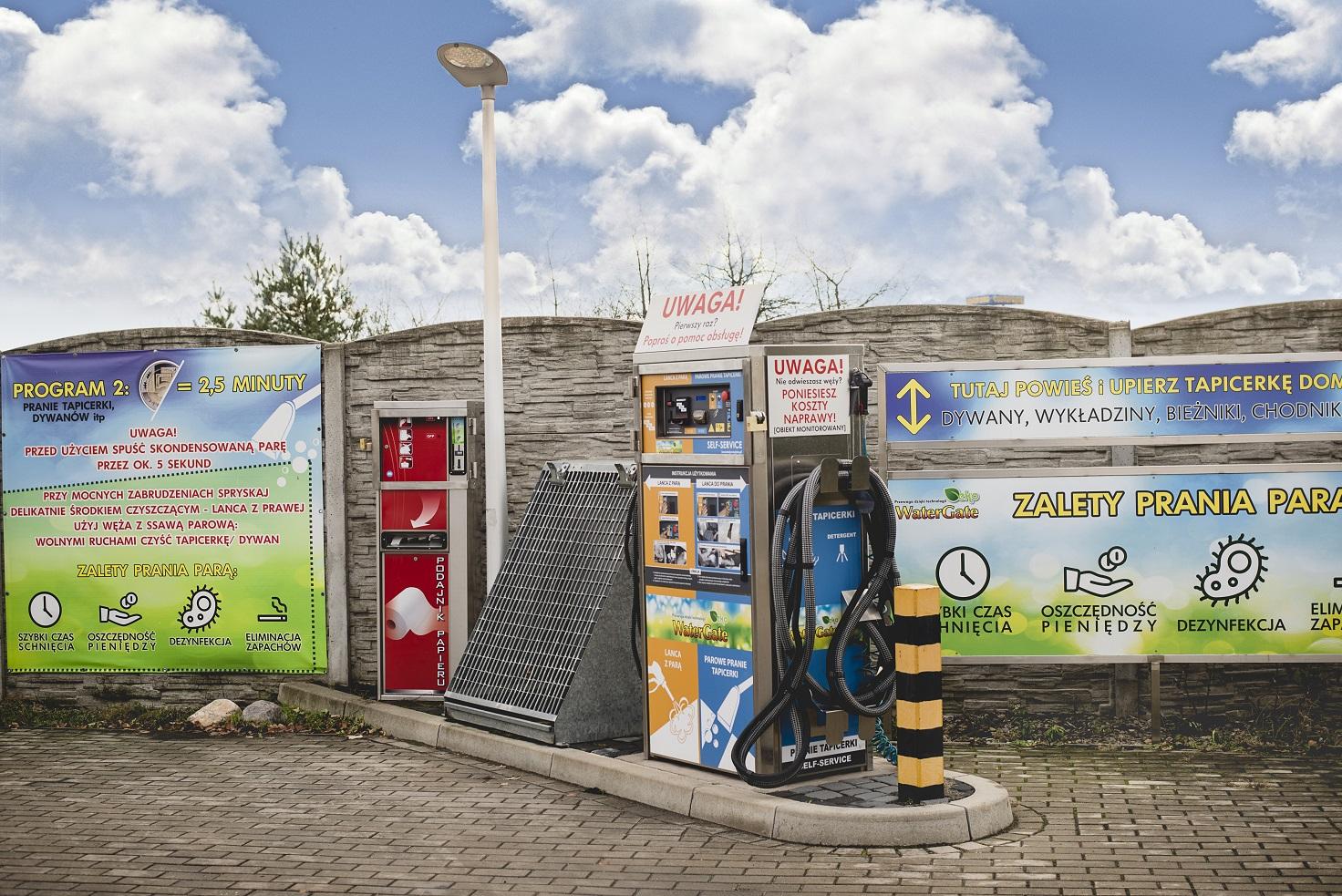 Nowe rozwiązanie Self-Service dla myjni samoobsługowej w Nysie